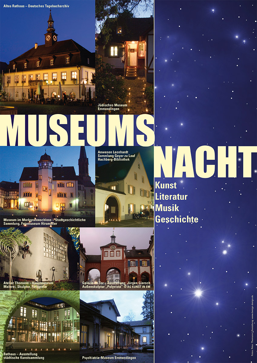 Museumsnacht Emmendingen Plakat
